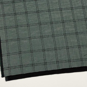 ウール&コットン混×チェック(バルビゾン&ブラック)×オーガンジー&ツイード サムネイル2