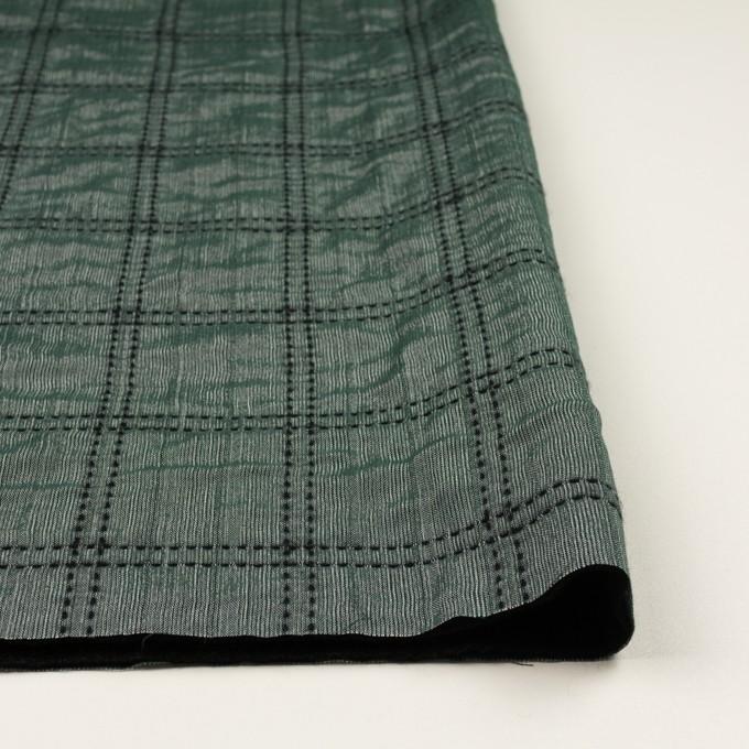 ウール&コットン混×チェック(バルビゾン&ブラック)×オーガンジー&ツイード イメージ3