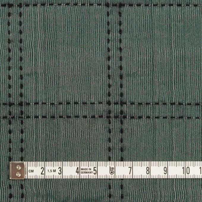 ウール&コットン混×チェック(バルビゾン&ブラック)×オーガンジー&ツイード イメージ4