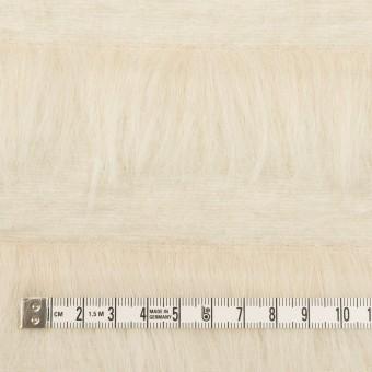 ポリエステル&ウール×ボーダー(ミルク)×シャギーニット_全2色 サムネイル4