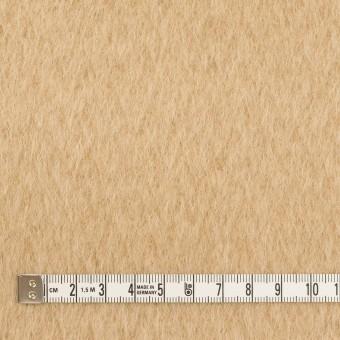ウール×無地(ベージュ)×シャギー サムネイル4