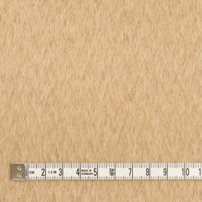 ウール×無地(ベージュ)×シャギー イメージ4