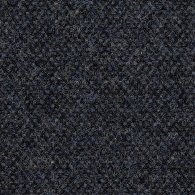 ウール×ミックス(ミッドナイトブルー)×ツイード イメージ1