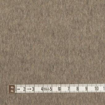カシミア&ウール×無地(アッシュブロンド&アッシュブラウン)×フラノ(Wフェイス) サムネイル4