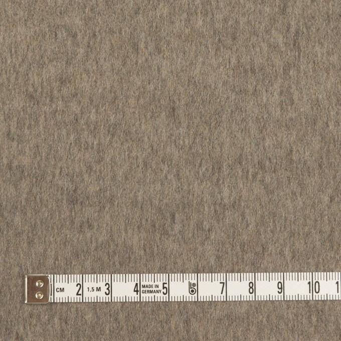 カシミア&ウール×無地(アッシュブロンド&アッシュブラウン)×フラノ(Wフェイス) イメージ4