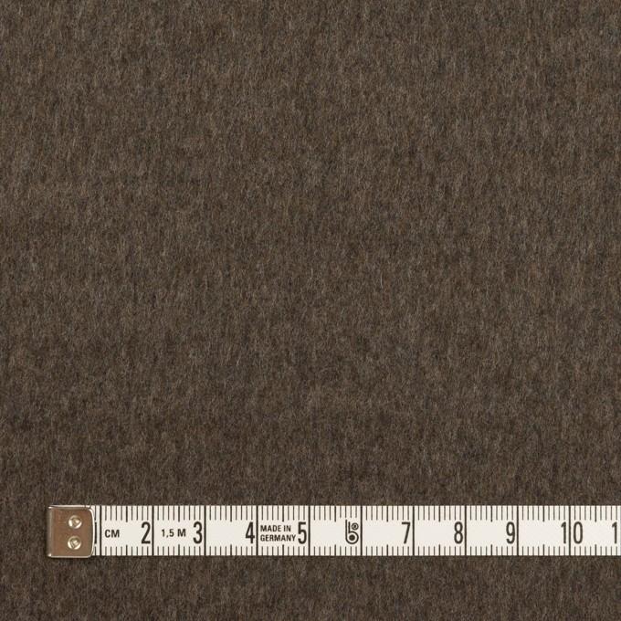 カシミア&ウール×無地(アッシュブロンド&アッシュブラウン)×フラノ(Wフェイス) イメージ6