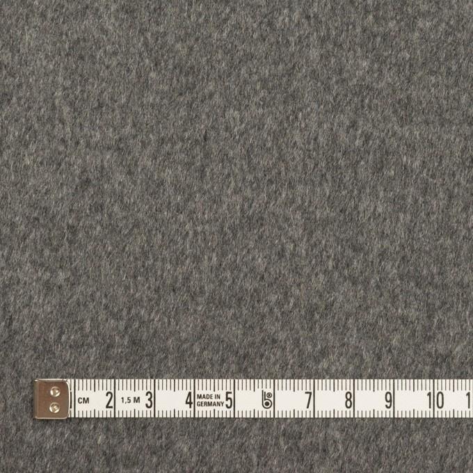 カシミア&ウール×無地(グレー&チャコール)×ビーバー(Wフェイス) イメージ4