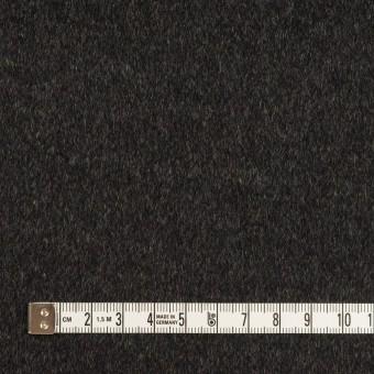 カシミア&ウール×無地(グレー&チャコール)×ビーバー(Wフェイス) サムネイル6