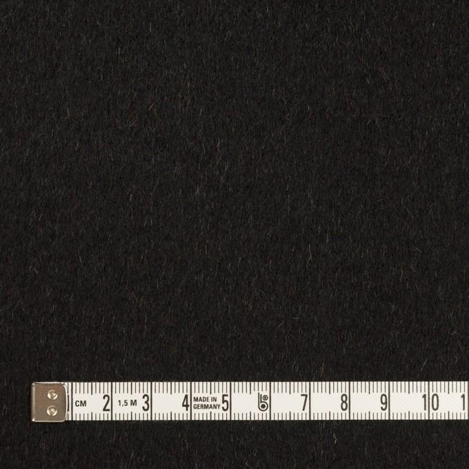 ウール&カシミア×無地(ブラック&オーカー)×ビーバー&フラノ(Wフェイス) イメージ4