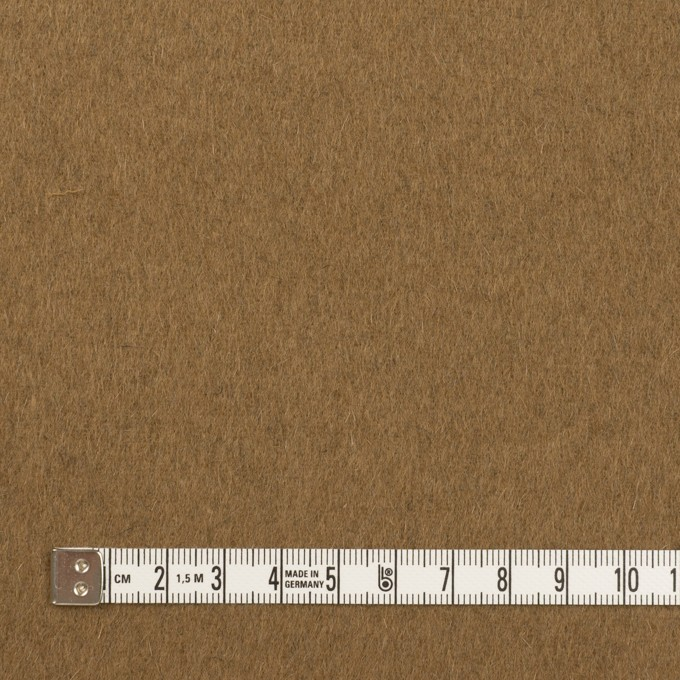 ウール&カシミア×無地(ブラック&オーカー)×ビーバー&フラノ(Wフェイス) イメージ6