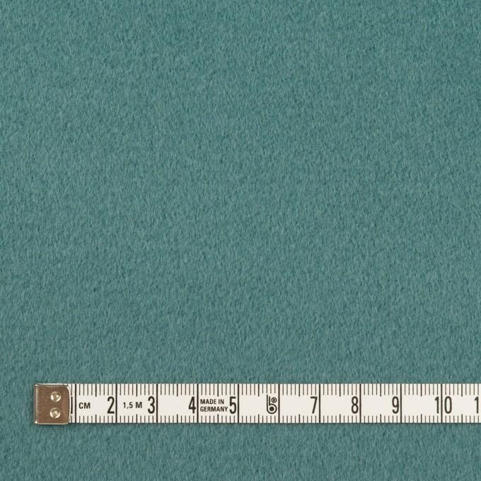 ウール&カシミア×無地(ジャスパーグリーン)×ビーバー イメージ4