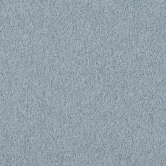 ウール×無地(サックス)×ソフトメルトン イメージ1