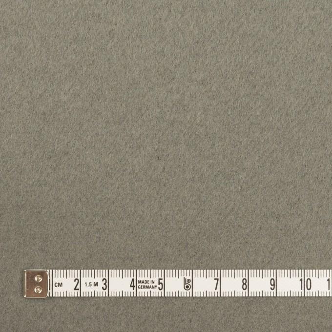 ウール×無地(モスグレー)×ソフトメルトン イメージ4