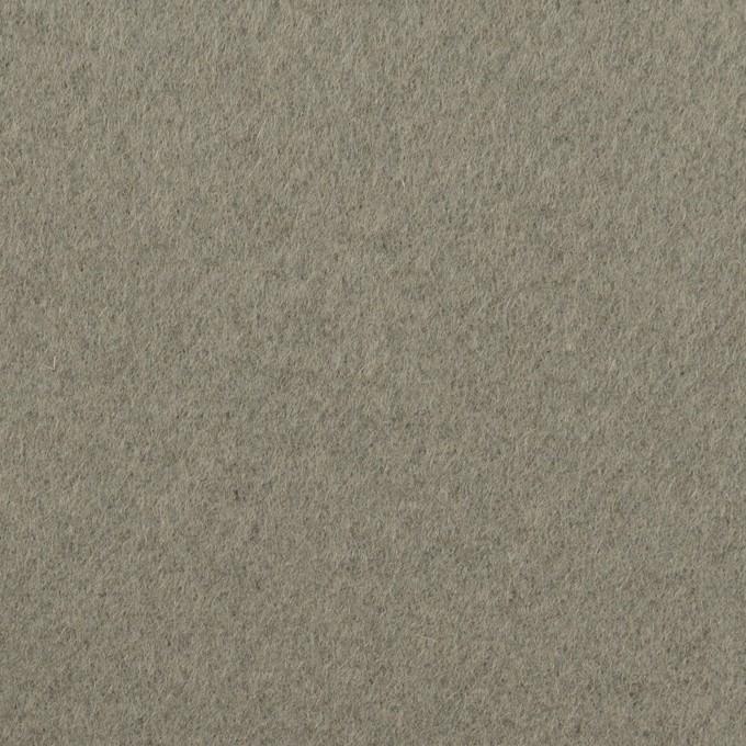 ウール×無地(モスグレー)×ソフトメルトン イメージ1