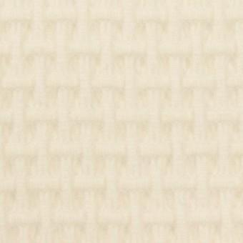 ウール×無地(エクリュ)×蜂巣織_イタリア製
