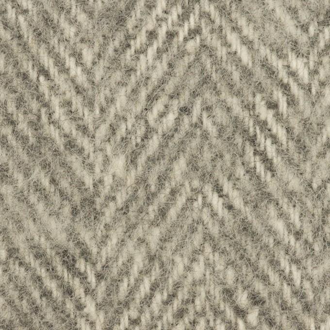 ウール&ナイロン×ミックス(グレー)×ツイード イメージ1