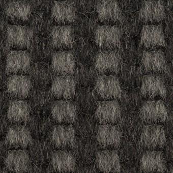モヘア&ウール×ミックス(チャコール)×シャギー