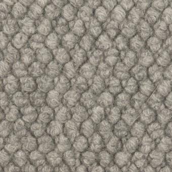 ウール&アンゴラ混×無地(グレー)×ループニット