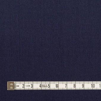 ウール×無地(アッシュネイビー)×ジョーゼット サムネイル4