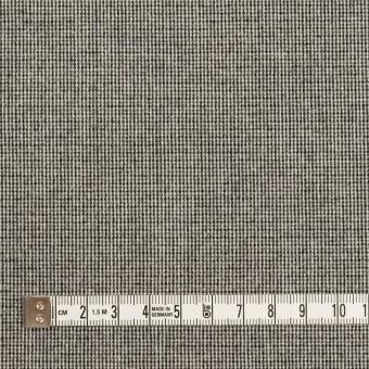 ポリエステル&レーヨン混×無地(グレー)×千鳥格子ストレッチ サムネイル4