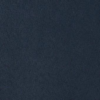 ポリエステル×無地(ミッドナイトブルー)×スエードかわり織_全4色