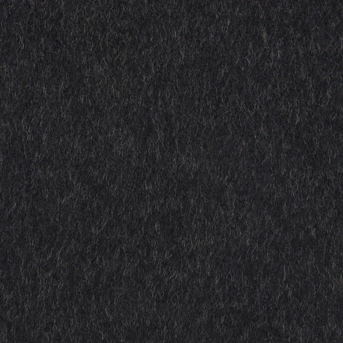 ウール&カシミア×無地(ダークネイビー)×ビーバー イメージ1