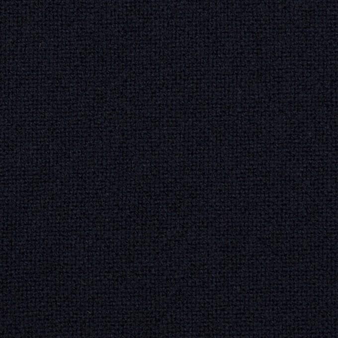 ウール×無地(ネイビー)×ツイード イメージ1