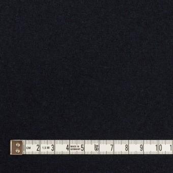 ウール×無地(ネイビー)×メルトン サムネイル4