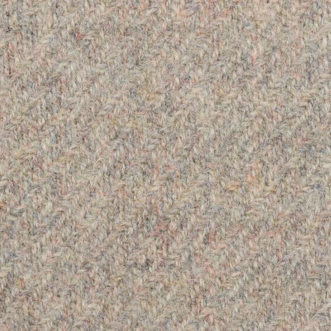 ウール×ミックス(グレイッシュピンク)×ツイード イメージ1