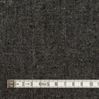 ウール×無地(チャコール)×ツイード サムネイル4