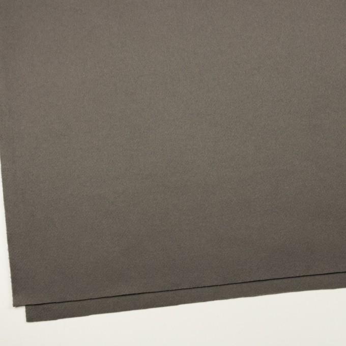 ウール&カシミア×無地(スチールグレー)×ソフトメルトン イメージ2