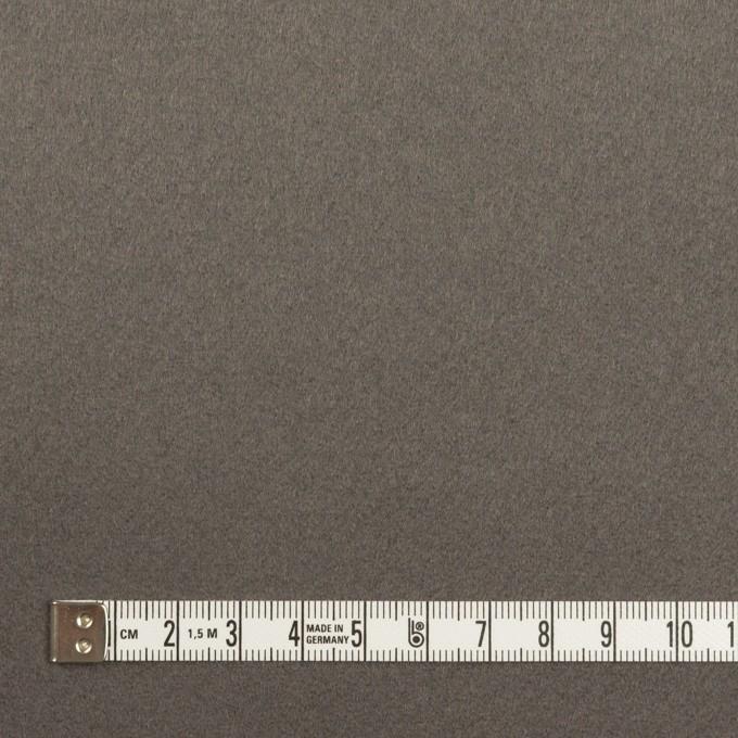 ウール&カシミア×無地(スチールグレー)×ソフトメルトン イメージ4