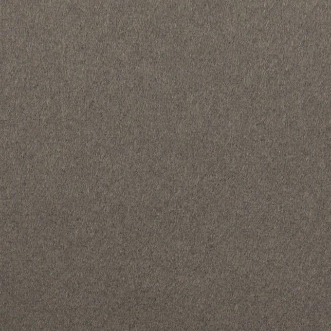 ウール&カシミア×無地(スチールグレー)×ソフトメルトン イメージ1
