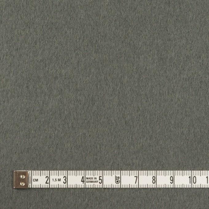 ウール×無地(スレートグレー)×ソフトメルトン イメージ4