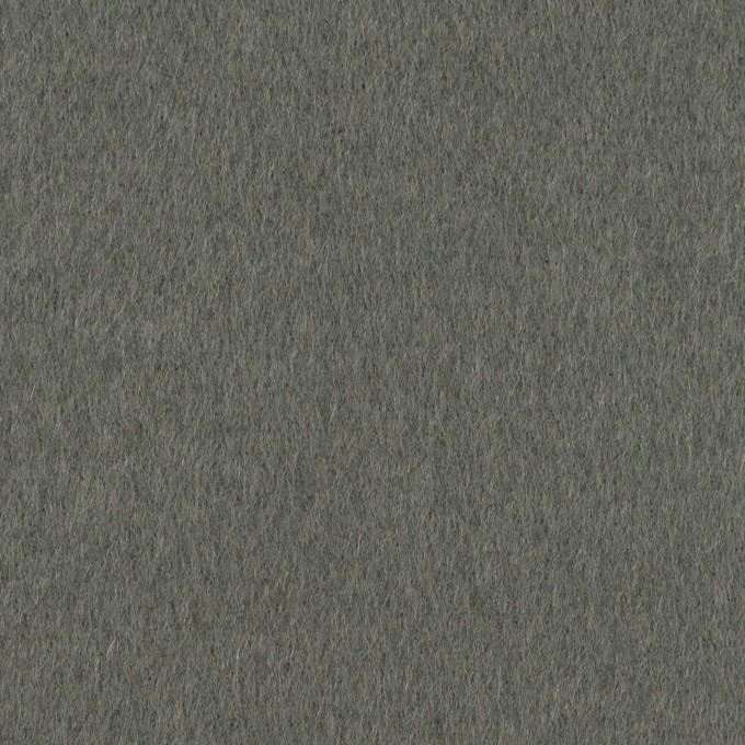 ウール×無地(スレートグレー)×ソフトメルトン イメージ1