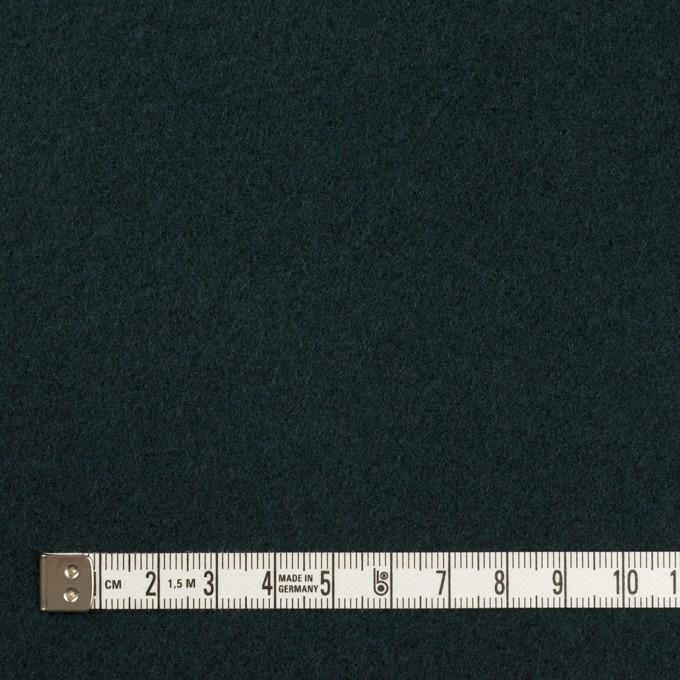 ウール×無地(バルビゾンブルー)×ソフトメルトン イメージ4