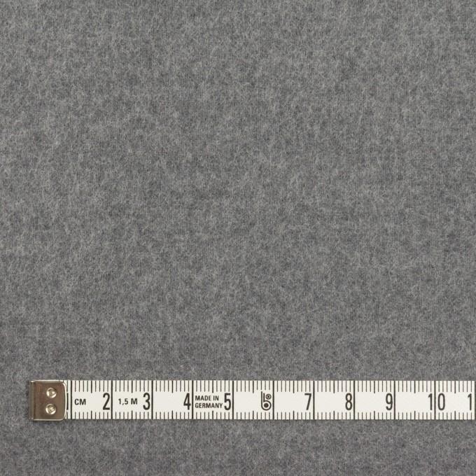 ポリエステル&コットン×無地(スチールグレー)×フランネル_全2色 イメージ4