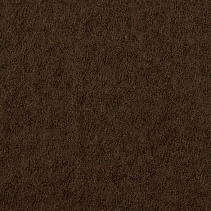 ウール×無地(ブラウン)×ガーゼ_全2色 イメージ1