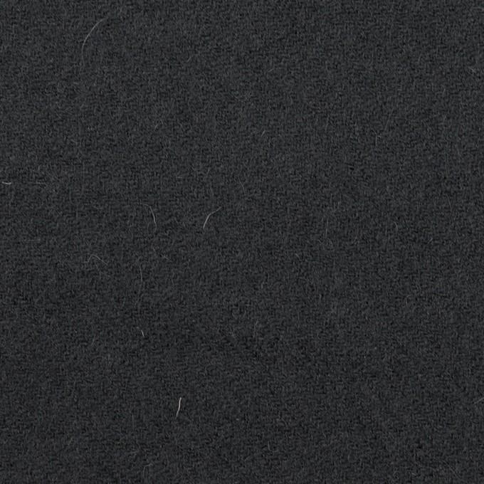 ウール×無地(チャコール)×ガーゼ イメージ1