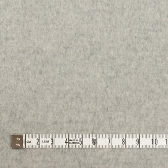 ウール&カシミア×無地(ライトグレー)×ビーバー サムネイル4
