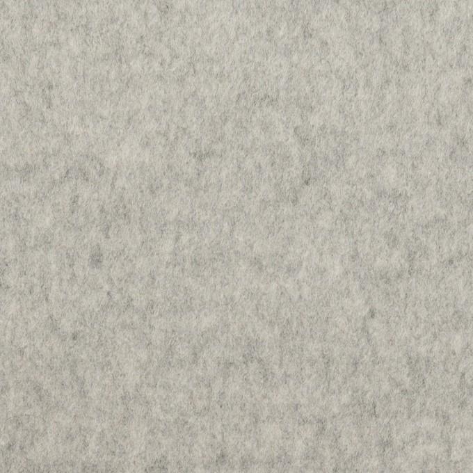 ウール&カシミア×無地(ライトグレー)×ビーバー イメージ1