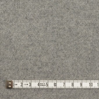 ウール&アクリル混×無地(グレー)×フラノ(フランネル) サムネイル4