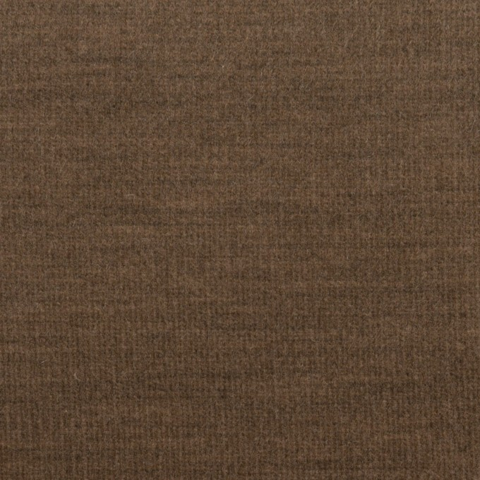 コットン&ポリウレタン×無地(モカブラウン)×細コーデュロイ・ストレッチ イメージ1