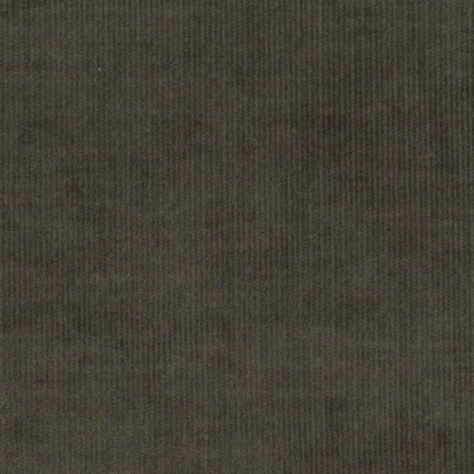 コットン&ポリウレタン×無地(チャコールグレー)×細コーデュロイ・ストレッチ イメージ1