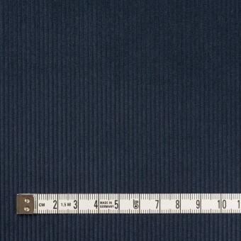 コットン×無地(ネイビー)×中細コーデュロイ サムネイル4