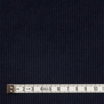 コットン&ポリウレタン×無地(ネイビー)×中細コーデュロイ・ストレッチ サムネイル4