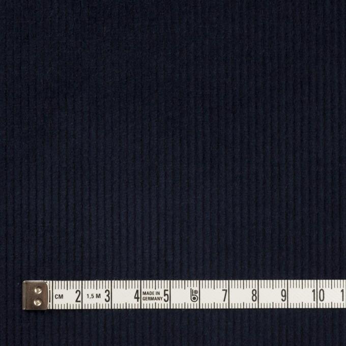 コットン&ポリウレタン×無地(ネイビー)×中細コーデュロイ・ストレッチ イメージ4