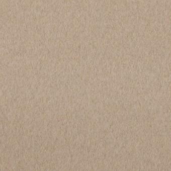 ウール&ナイロン×無地(ベージュグレー)×ビーバー