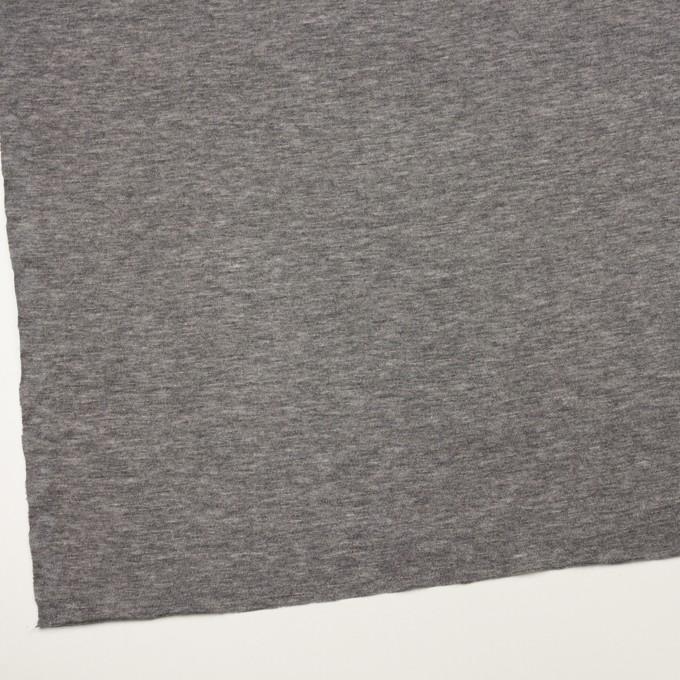 テンセル&ウール×無地(グレー)×天竺ニット イメージ2