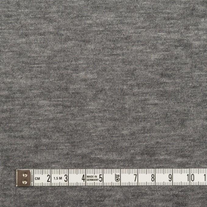 テンセル&ウール×無地(グレー)×天竺ニット イメージ4